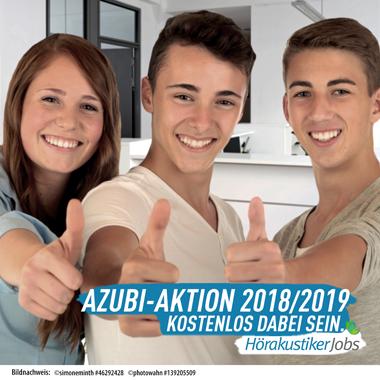 Bundesweit Hörakustik-AZUBIs suchen – kostenlos dabei sein!
