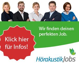 Banner Hörakustikerjobs